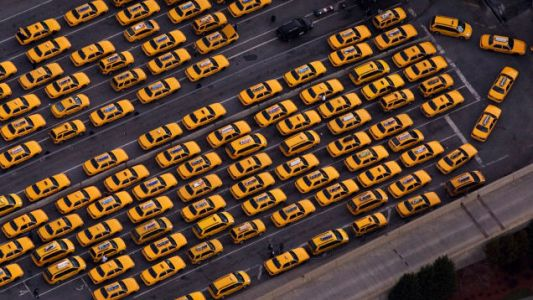 Silicon Valley Invents Taxi Lines