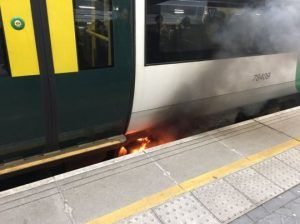 Fire at London Bridge Station, commuters evacuated after smoke poured from beneath