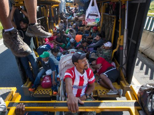Thousands from migrant caravan are giving up on trying to enter the US after facing Trump's tough asylum policies