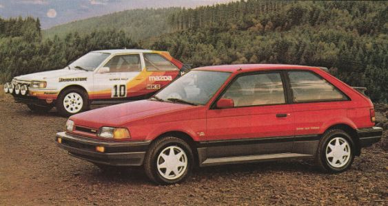 Let Me Tell You What's A Real Righteous Rocket Craft: The Mazda 323 GTX