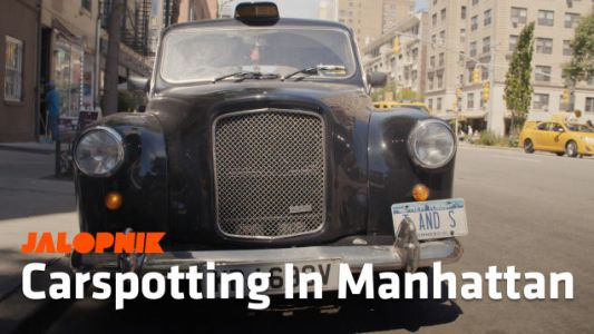 Carspotting: Meet NYC's Best London Cab And Why The World Loves The XJ Cherokee