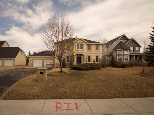 Eerie photos show a neighborhood of abandoned million-dollar McMansions