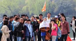 Chinese are indulging in sports tourism