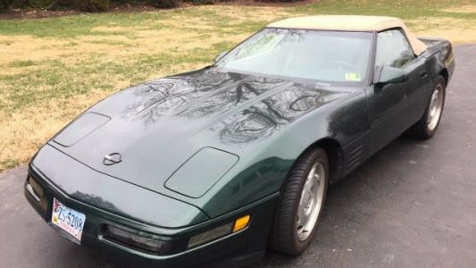At $14,750, Could This 1993 40th Anniversary Year Chevy Corvette be Your Party Favor?