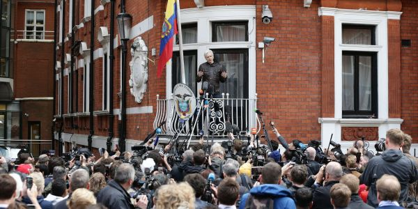 Ecuador is taking away the extra security from the London embassy where Julian Assange has been holed up for six years