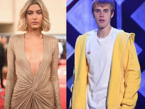 Watch newly engaged couple Justin Bieber and Hailey Baldwin meet for the first time 9 years ago