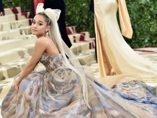 Ariana Grande hid a hint to an upcoming song in plain sight at the Met Gala
