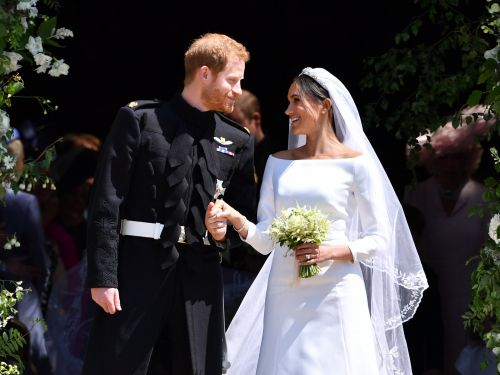 Meghan Markle's second dress for the royal wedding is a very modern look - and it's just as stunning as her first gown