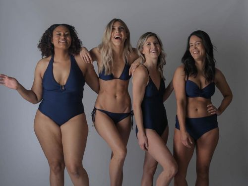 This affordable swimsuit company fits their designs on their employees instead of fit models - 5 of us tried them and they fit each of us incredibly well