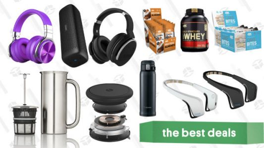 Saturday's Best Deals: Echo Dots, PlayStation Classic, Whey Protein, Insulated Mugs, And More