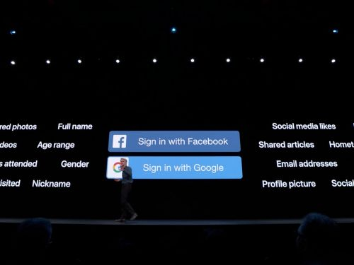 Apple just took a direct shot at Google and Facebook with a new service called 'Sign in with Apple'