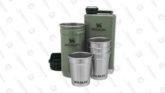 Pick Up a Stanley Shot Glass and Flask Set For a Low $19, While Supplies Last