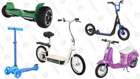 Scoot, Zoom, Hover, or Glide Over to Walmart's Sale on Recreational Vehicles