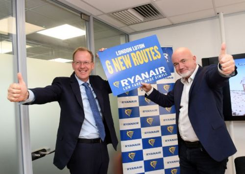 Ryanair Announces $200m Investment in London Luton with 2 New Based Aircraft