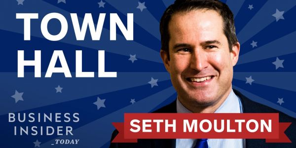 2020 candidate Seth Moulton says he'd legalize marijuana and boost mental health care for veterans