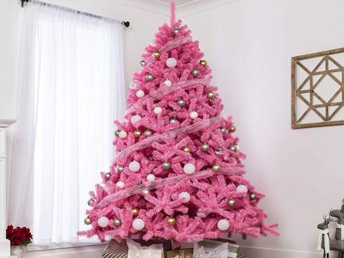 10 pink Christmas trees that are much more unique and fun than green ones