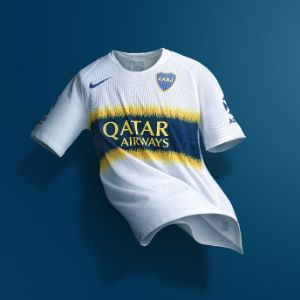 Qatar Airways and Boca Juniors Proudly Reveal New Jersey Featuring the Airline's Logo