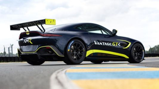 Nobody Is Going To Arrest Me For Driving An Aston Martin Vantage GT4 On The Street, Right?