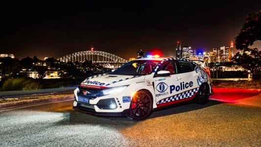 A Honda Civic Type R Joins Australian Police Force, but Not to Chase Your Hooning Self Down