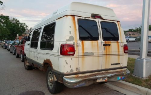 Not Even Rust Can Stop You When You Drive A Dodge Ram Van In Detroit