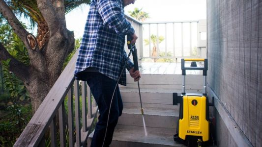 Clean Your Driveway, Sidewalks, and More With This Powerful Stanley Pressure Washer