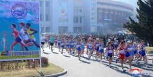 Twice the number of foreign runners takes part in Sunday's marathon in Pyongyang