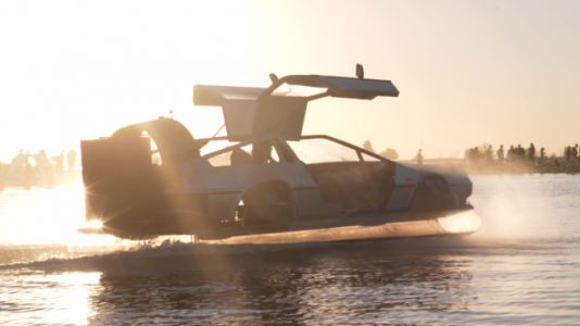 You Want This DeLorean Hovercraft for the Seas of Life