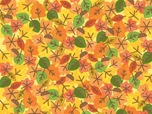 People are struggling to find the sun among the leaves in this autumn-themed brain teaser - can you spot it?