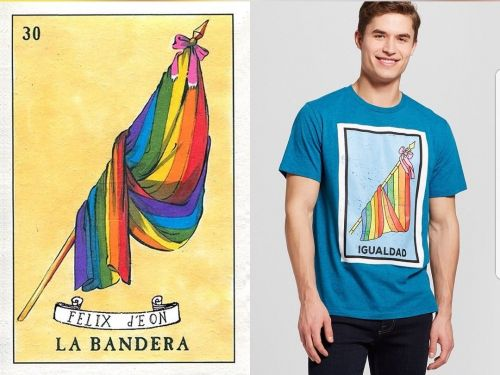 Target quietly removes a t-shirt from its website after being accused of 'stealing the art of a gay Mexican artist'
