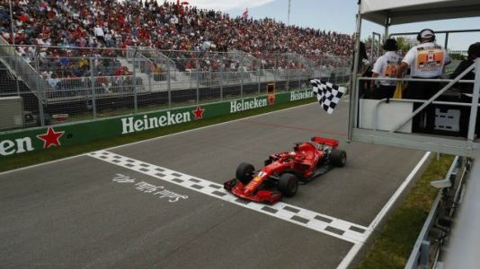 Sebastian Vettel Went For A Sunday Drive Around A Canadian Park And Won A Trophy For It
