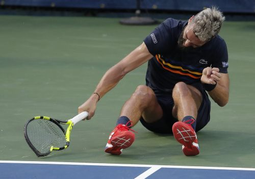 French tennis player Benoit Paire had an epic meltdown, breaking 3 rackets