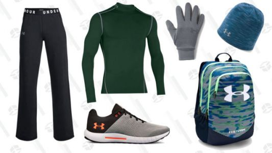 Work Out All Winter in This Discounted Gear From Under Armour's Semi-Annual Event