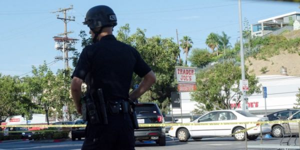 A woman survived the Trader Joe's standoff in LA by comforting the shooter and tending to his gunshot wound