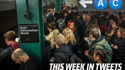 Broken Trains, Rider Fights, and Mayhem: This Week's Best Tweets At The Subway