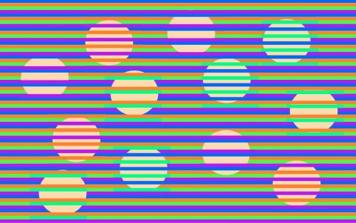 Can you tell what color these circles are? The answer might surprise you