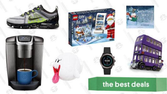 Saturday's Best Deals: Nike Select Sale, Frozen Toys, Buffy Comforters, Fossil, and More