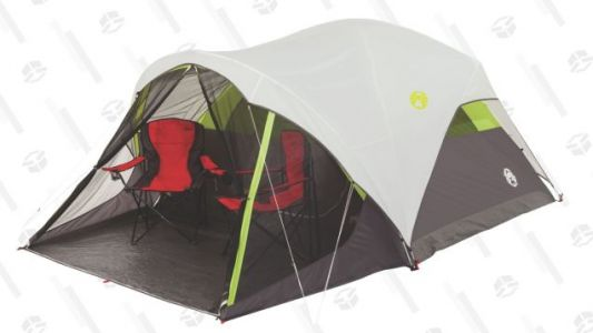 Get This $240 Coleman Tent For Just $99, Complete With a Screened-In Porch