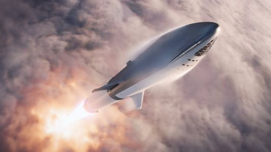 Elon Musk and SpaceX shared new images of the rocket ship designed to colonize Mars - and the pictures hint at crucial design changes