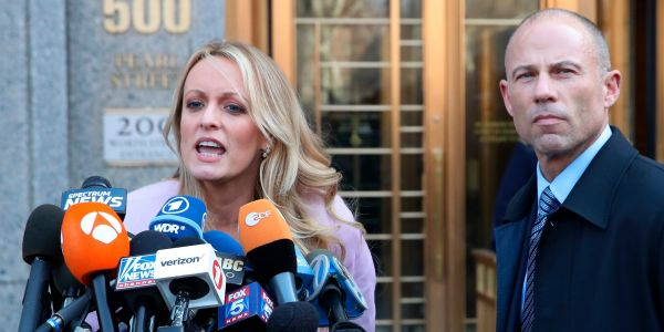Stormy Daniels's husband has filed for divorce, her lawyer announced