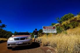 Tourists are advised to visit Wittenoom with caution