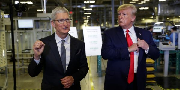 Apple has narrowly avoided a 15% tariff on the iPhone after Trump's trade deal with China