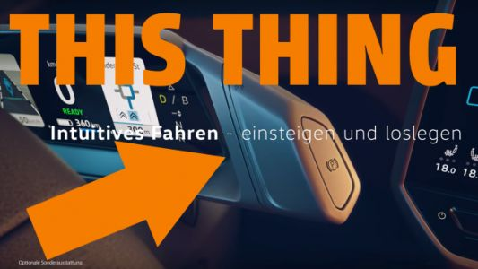The Coolest Thing About the Electric VW ID.3 Is the Shifter