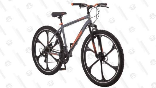 Hit The Trails On This $149 Mongoose Mountain Bike