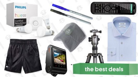Wednesday's Best Deals: Calvin Klein Sale, Philips Hue Starter Kit, Harmony Remote, and More
