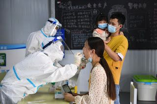 Nanjing explains how virus was transmitted