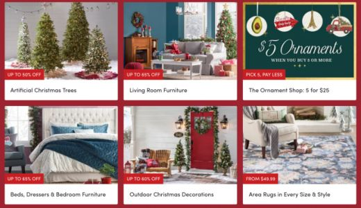 Wayfair's Holiday Sale Includes Tons of Affordable Seasonal Decor and Year-Round Furniture