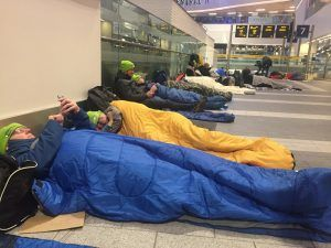 Railway Charity Station Sleep Out Raises Money For Vulnerable Children