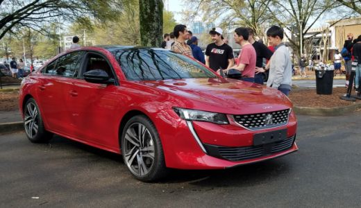 Peugeot Brought a Car Nobody's Seen In the USA to an Atlanta Meetup