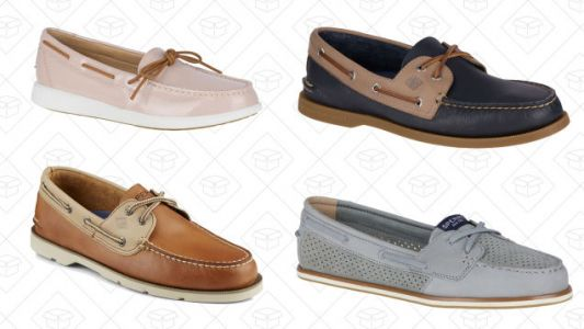 Pick Up a Pair of Sperry Boat Shoes For Just $50