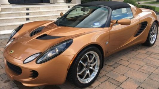 Buy This Beautiful Bronze Lotus Elise Totaled Over Bumper Scratch